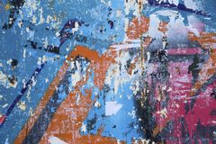 De oppervlakte van het Grungemetaal stock fotografie