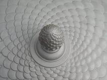 De oppervlakte van het ijzer stock afbeelding