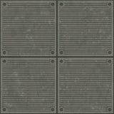 De oppervlakte van het metaal Stock Foto