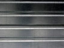 De oppervlakte van het metaal Stock Afbeeldingen