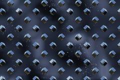 De oppervlakte van het metaal vector illustratie