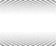 De oppervlakte van het perspectiefnet vector illustratie