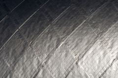 De oppervlakte van het titanium royalty-vrije stock afbeelding