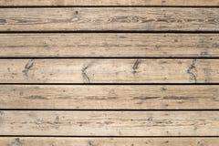 De oppervlakte van oude raad in de horizontale richting Royalty-vrije Stock Afbeelding