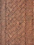 De oprijlaan van de baksteen Stock Afbeelding