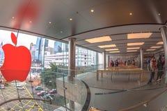 De opslag Hongkong van de appel Stock Foto