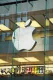 De opslag van de appel, die voor computers winkelt Royalty-vrije Stock Afbeelding