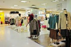 De opslag van de de manierkleding van vrouwen Stock Foto