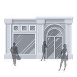 De opslag van de klantenbuitenkant Royalty-vrije Stock Afbeelding