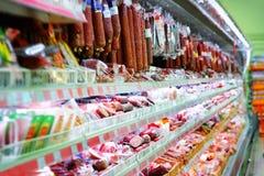De opslag van de kruidenierswinkel Stock Foto's