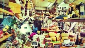 De opslag van de kruidenierswinkel in Rome Stock Foto's