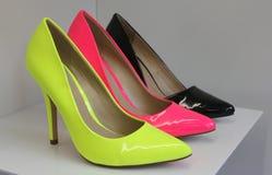 De Opslag van de schoen Royalty-vrije Stock Afbeeldingen
