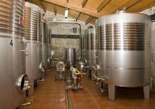 De Opslag van de wijn Stock Foto's