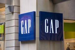 De opslag van Gap royalty-vrije stock afbeeldingen