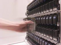 De Opslag van gegevens stock foto