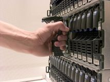 De Opslag van gegevens stock fotografie