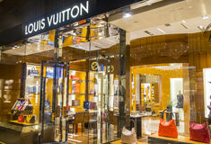 De Opslag van Louis Vuitton Royalty-vrije Stock Foto