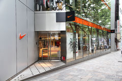 De opslag van Nike, Tokyo Royalty-vrije Stock Foto