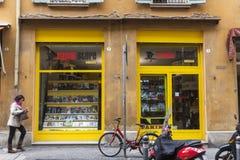 De opslag van Panini in Bologna royalty-vrije stock foto's