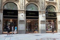 De opslag van Prada Stock Foto
