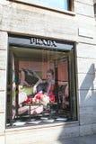 De opslag van Prada Stock Fotografie