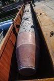De opslag van raketten en bommen stock afbeelding