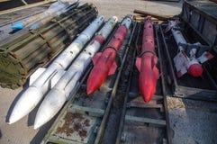 De opslag van raketten en bommen royalty-vrije stock foto's