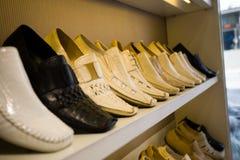 De opslag van schoenen royalty-vrije stock foto