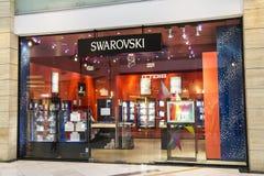 De Opslag van Swarovski royalty-vrije stock foto