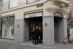 De opslag van Zara Stock Foto's