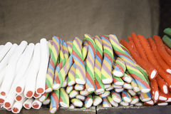 De Opslag van zoethoutsnoepjes Stock Afbeelding