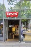 De opslagbuitenkant van Levi Strauss & Co- Stock Fotografie