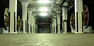 De opslaggebied van de wijn Royalty-vrije Stock Foto