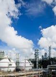 De opslaggebieden tankautiful s van het gas Stock Afbeelding