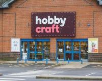 De Opslagingang van de hobbyambacht Stock Foto's