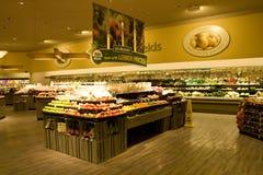 De opslagsupermarkt van de kruidenierswinkel Stock Fotografie