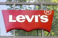 De opslagteken van Levi Strauss & Co- Royalty-vrije Stock Foto's