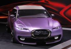 De opstandconcept van Citroën ds Stock Afbeelding
