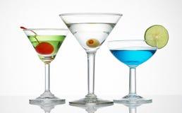 De opstelling van de alcohol Stock Afbeeldingen