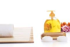 De opstellingsdetail van de massage Stock Fotografie