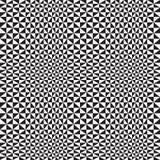 De optische Achtergrond van de Driehoek Stock Afbeelding