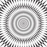 De optische illusieachtergrond van de Sotatingsmotie royalty-vrije illustratie