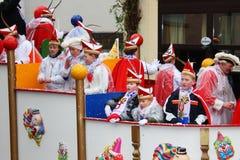 De optocht van Carnaval Stock Foto