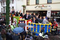 De optocht van Carnaval Stock Afbeelding