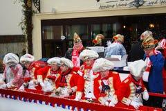De optocht van Carneval Royalty-vrije Stock Afbeelding