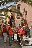 De Optocht van de Palmzondag Stock Foto's