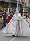 De optocht van Pasen in Cordoba, Spanje Stock Fotografie