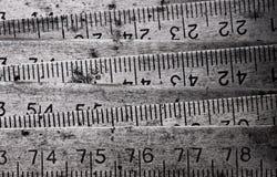 De opvouwbare meter van het metaal Stock Afbeelding