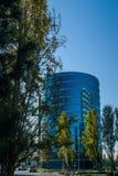 De Oracle högkvarteren som lokaliseras i Redwood City Fotografering för Bildbyråer