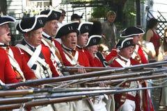 De Oranje Bereden politie van de koning Royalty-vrije Stock Foto